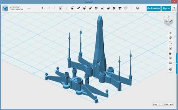 Spliting complex model to make it more 3D printer friendly.